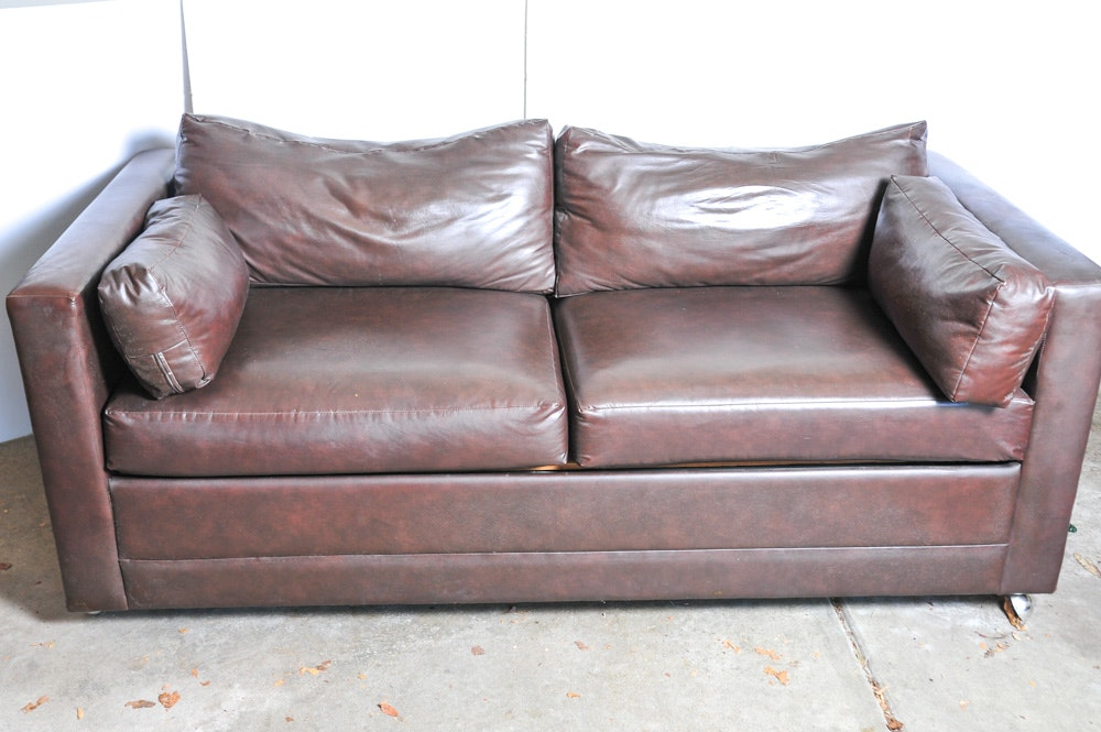 Vintage Sofas Antique Settees Retro Loveseats and Antique Chaises in Furnishings Housewares