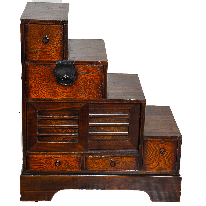 Wooden Decorative Step Storage Cabinet : EBTH