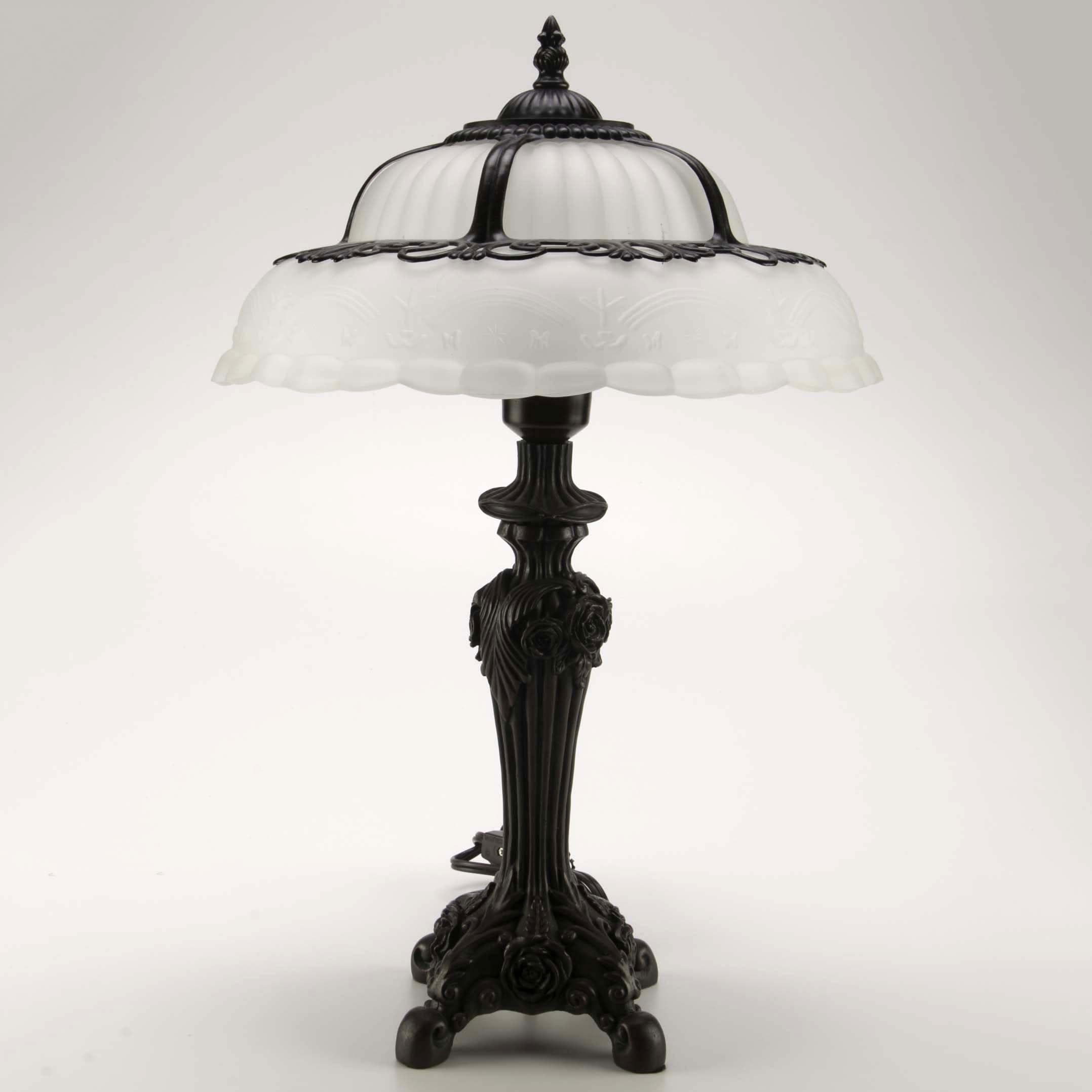 cheyenne company art nouveau style lamp