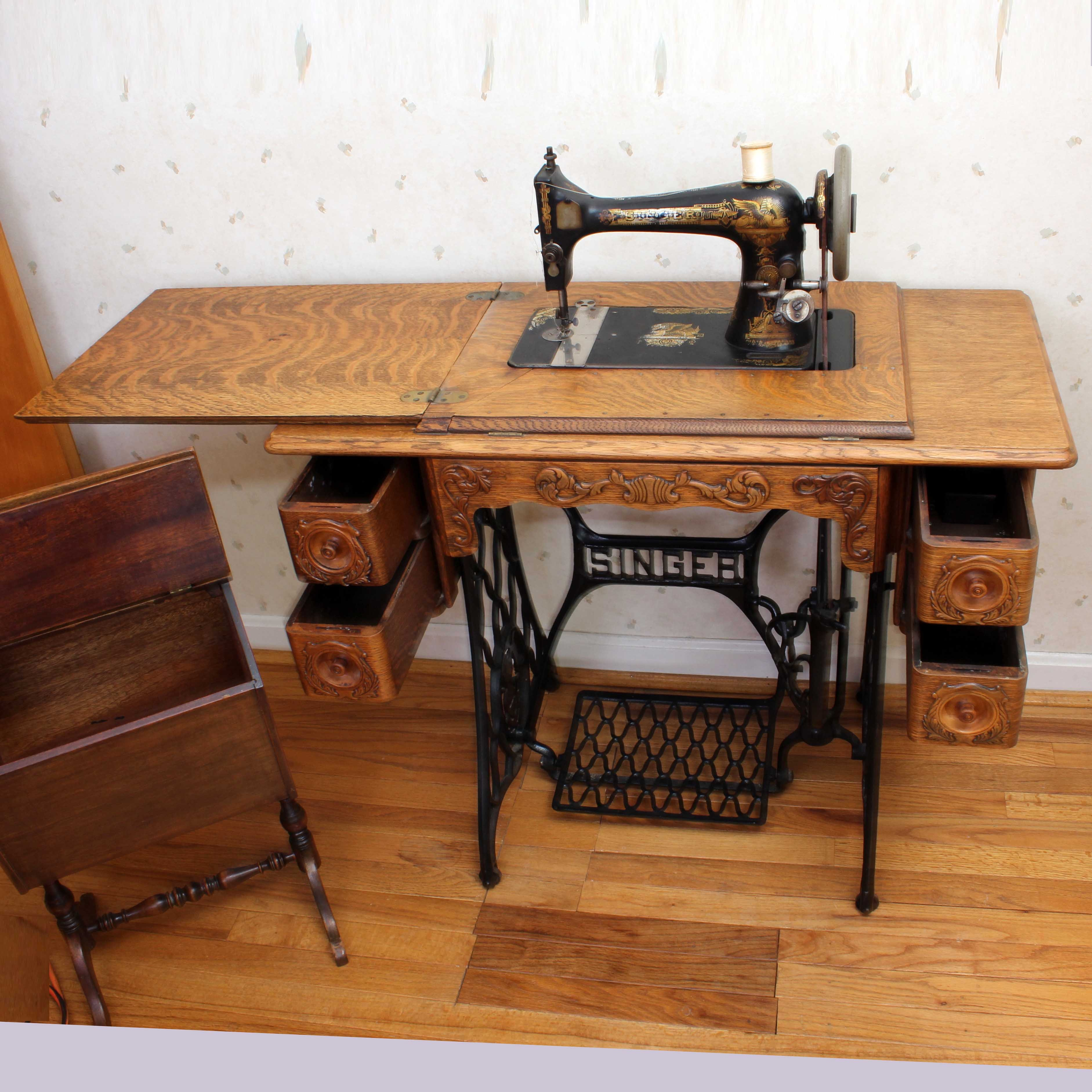 singer sewing machine sphinx