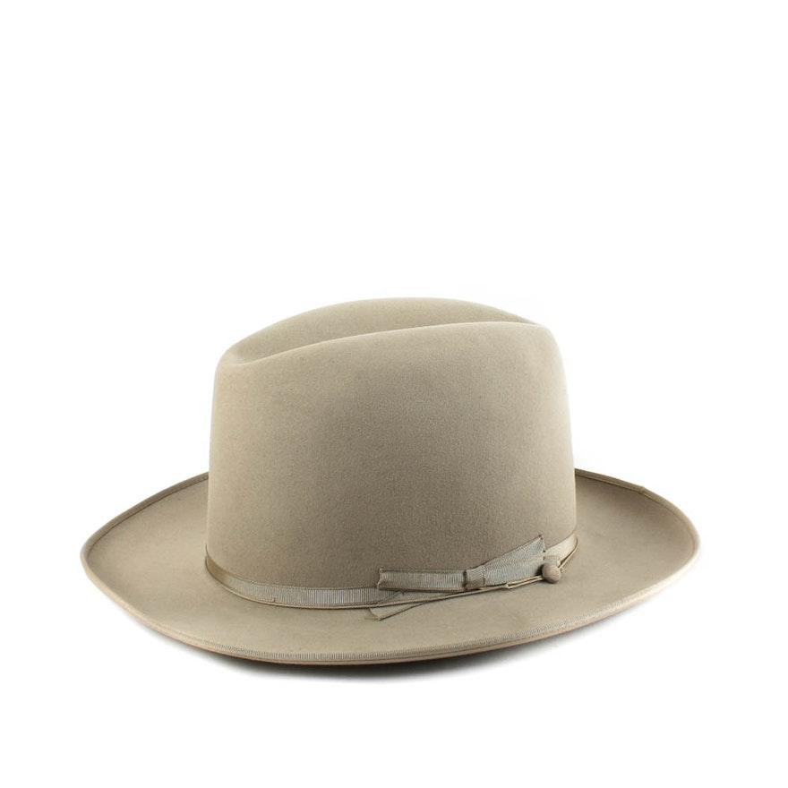 Vintage Stetson Royal de Luxe Wool Felt Hat