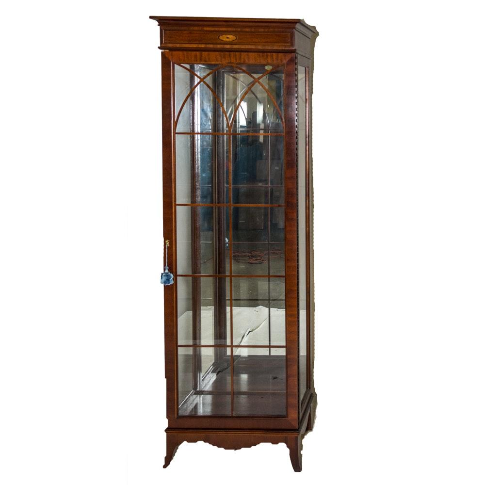 Superbe Jasper Mahogany Curio Cabinet ...