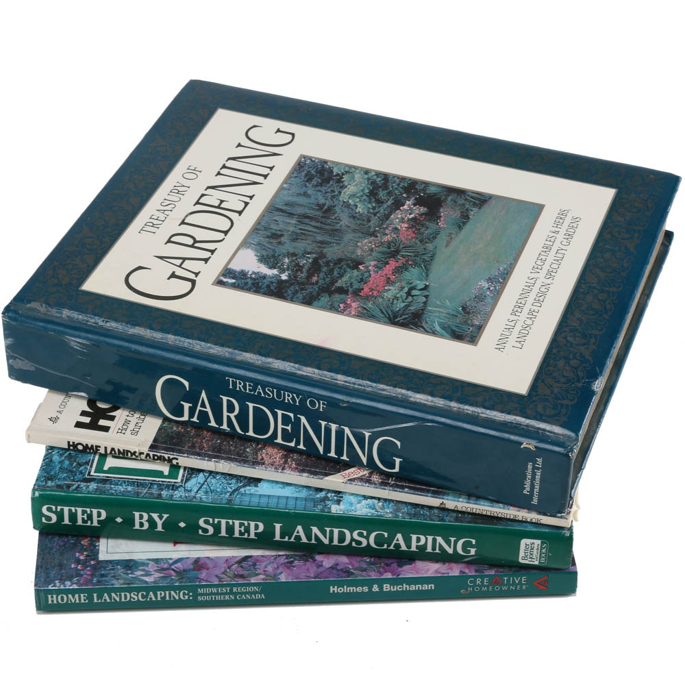 Set of Gardening Books