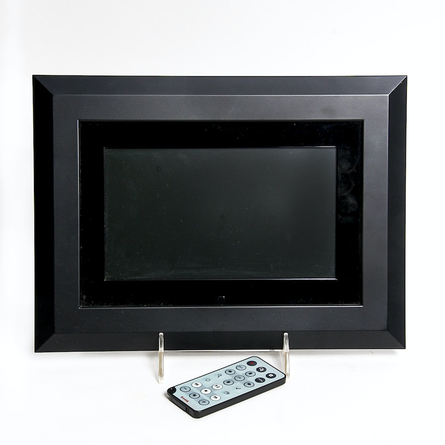 Kodak Easyshare Sv811 Digital Picture Frame With Remote Ebth