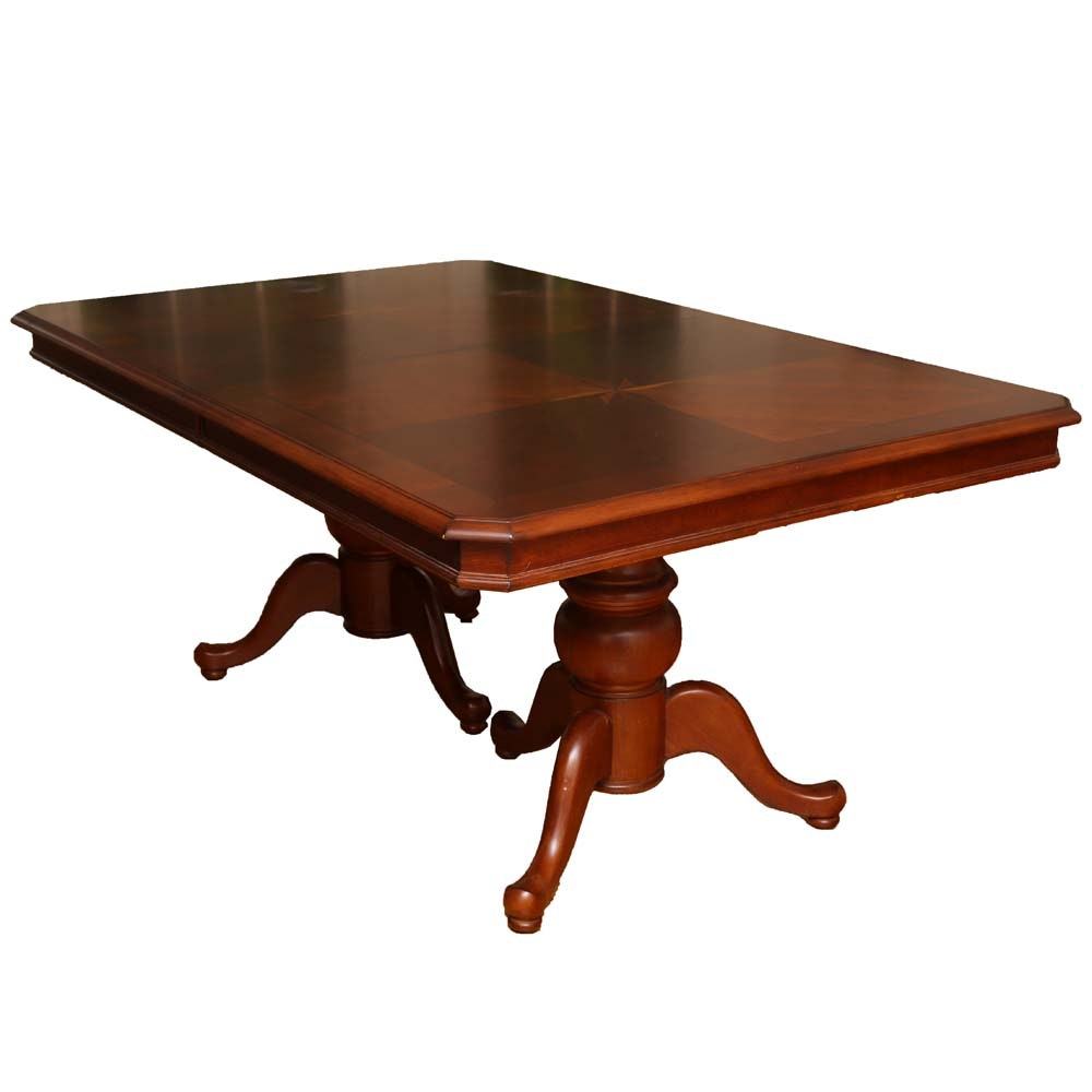 Maple Kitchen Table With Chair And Bench Ebth: Green River Wood Maple Dining Table : EBTH