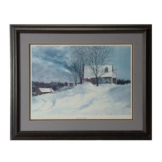 Michael Sloan Signed Limited Edition Print Quot Tennessee