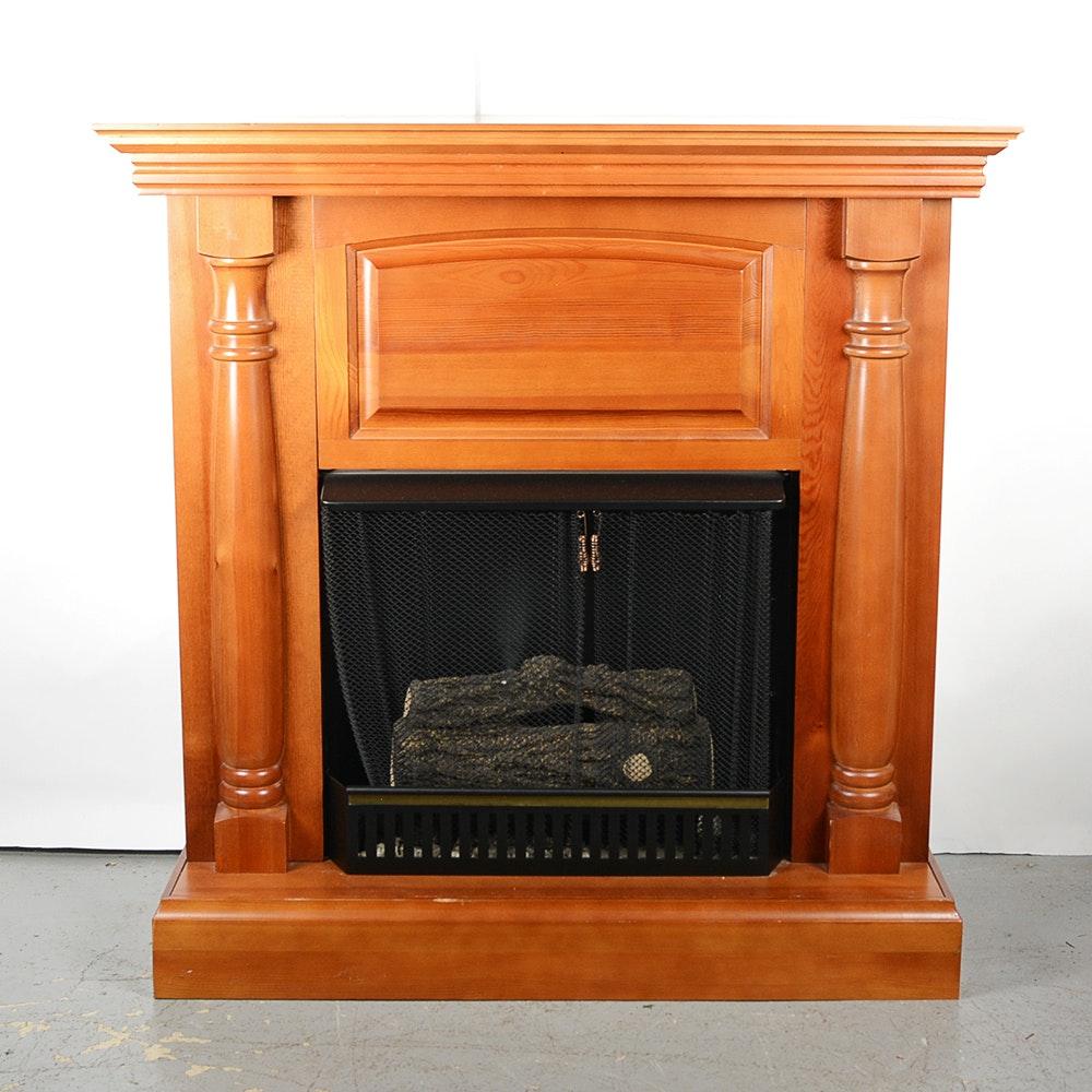 jensen indoor gel fireplace ebth
