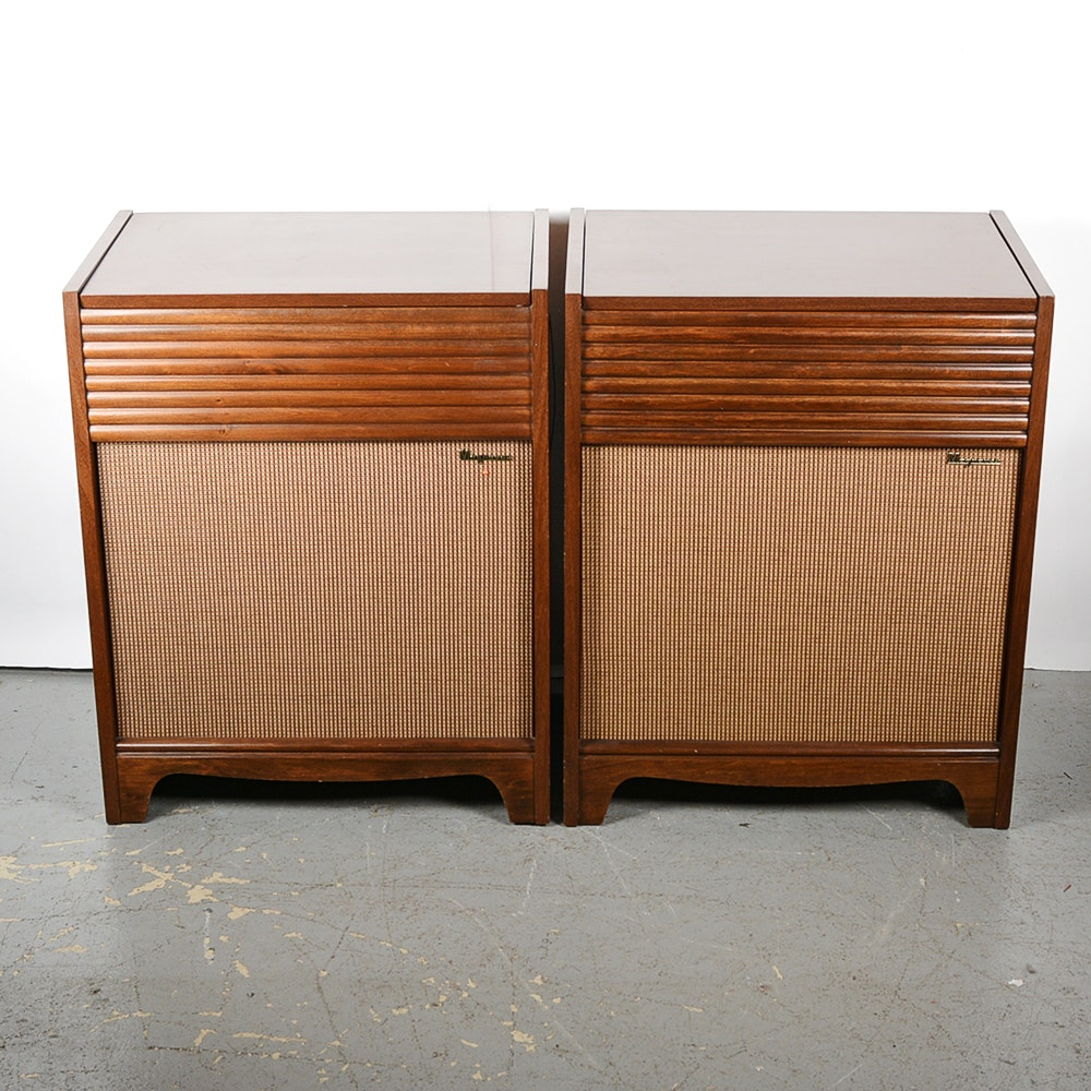 Vintage Record Player Console 42