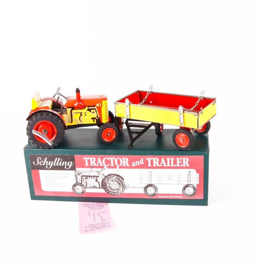 Tractor Trailer Keys : Zetor key wind tin tractor and trailer ebth