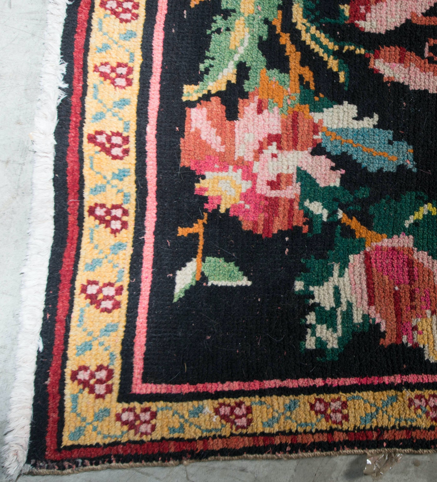 Hand Knotted Indo Persian Obeetee Wool Area Rug Ebth: Handwoven Romanian Bessarabian Style Area Rug : EBTH
