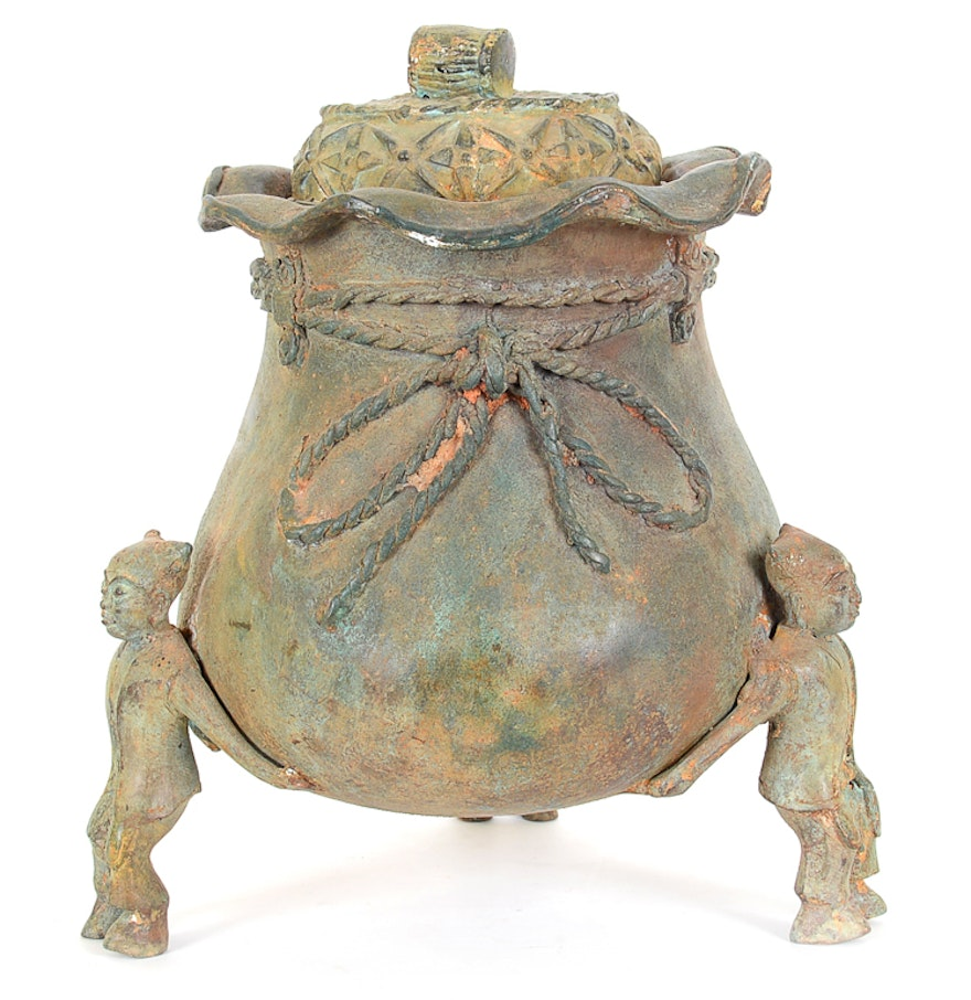 Chinese cast iron vessel ebth