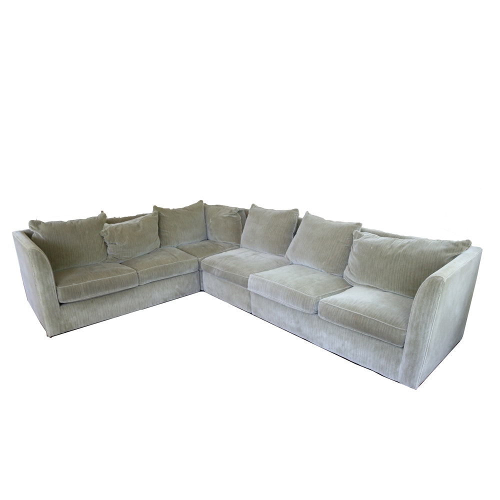 Storehouse Furniture Sectional Sofa ...  sc 1 st  Everything But The House : sam moore sectional - Sectionals, Sofas & Couches