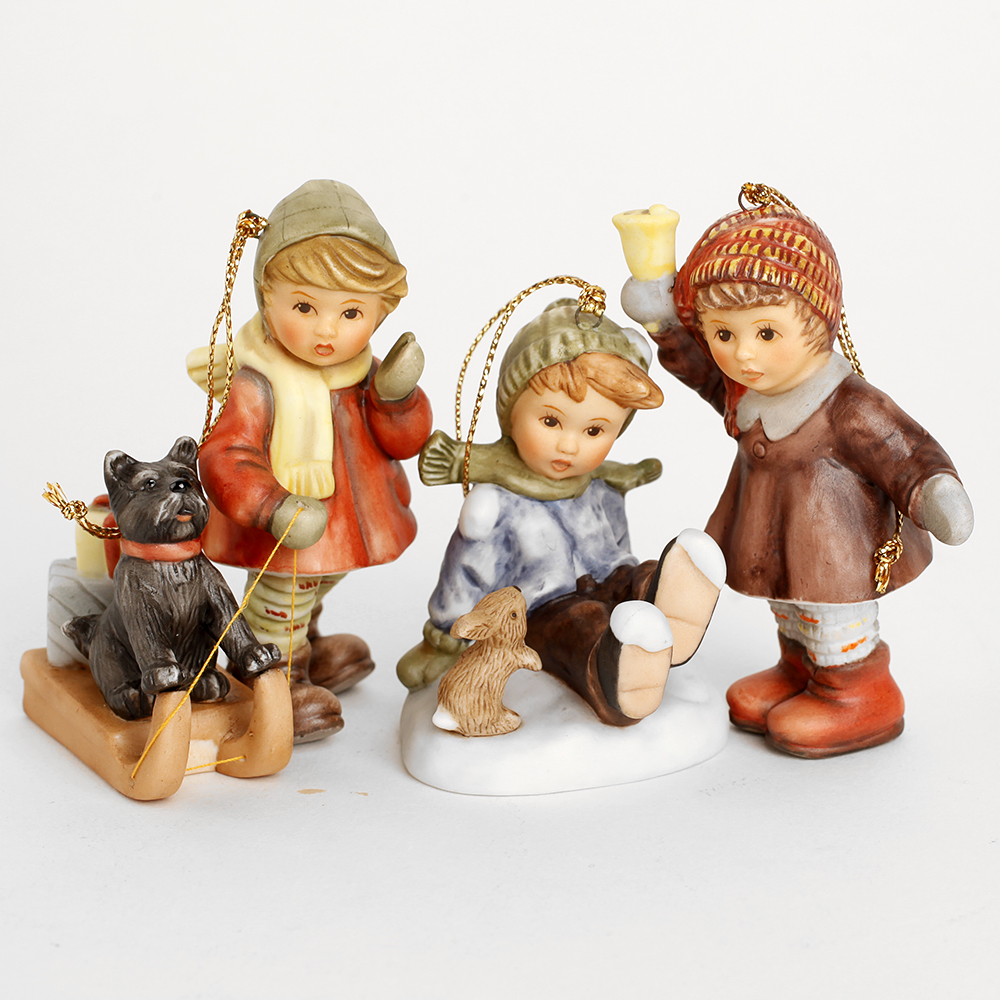 Studio Hummel Christmas Ornaments, Set 11-20 : EBTH