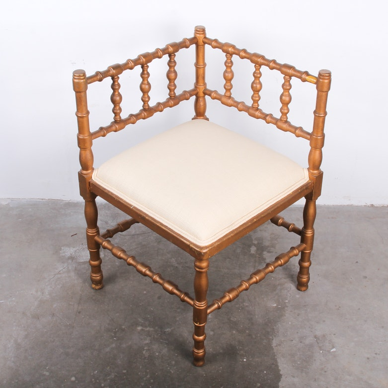 19th Century French Corner Chair