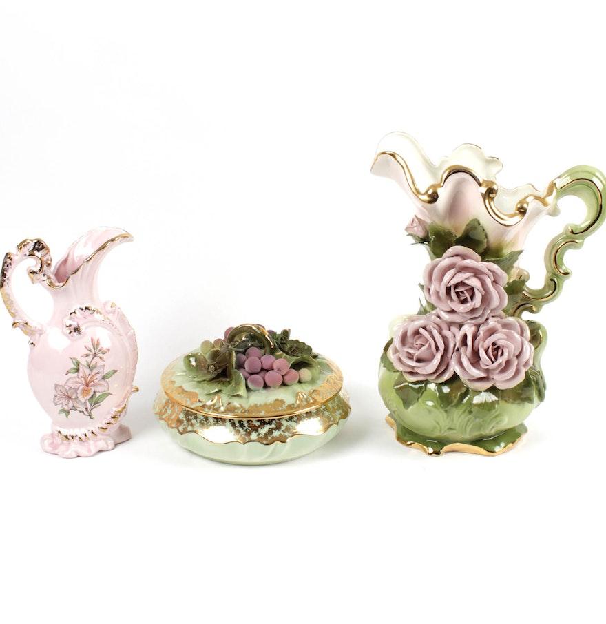 Handmade Decorative Trinket Box and Other Home Decor EBTH