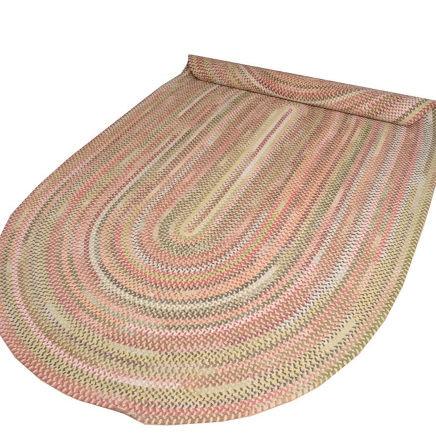 Pottery Barn Chenille Braided Rug