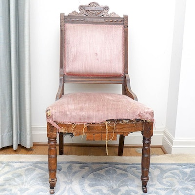 Mid 1800s Eastlake Side Chair - Vintage Chairs, Antique Chairs And Retro Chairs Auction In Fine