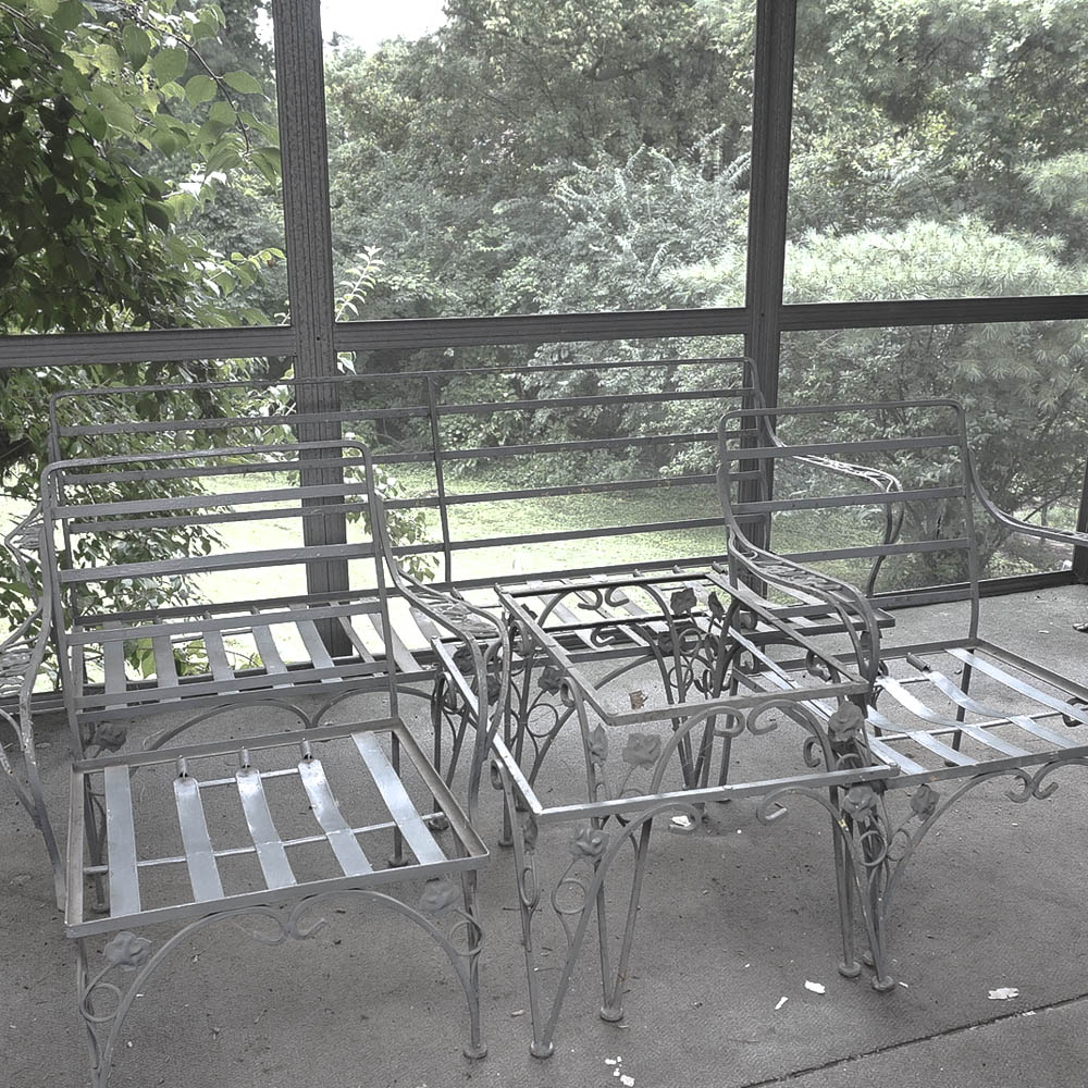 furniture motifs. Metal Patio Furniture Frames With Floral Motifs Furniture Motifs