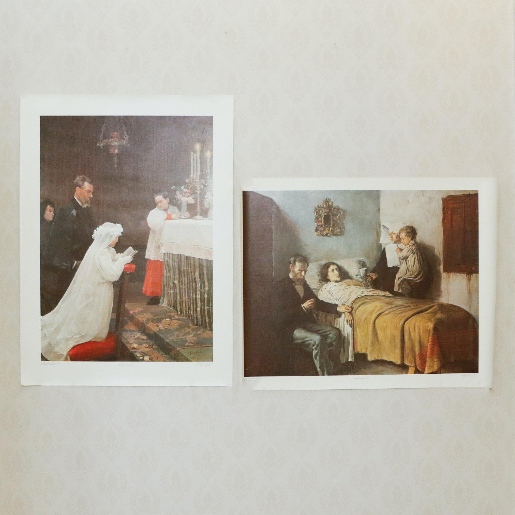 P Rolence Rabbits Vintage Art Prints | A...