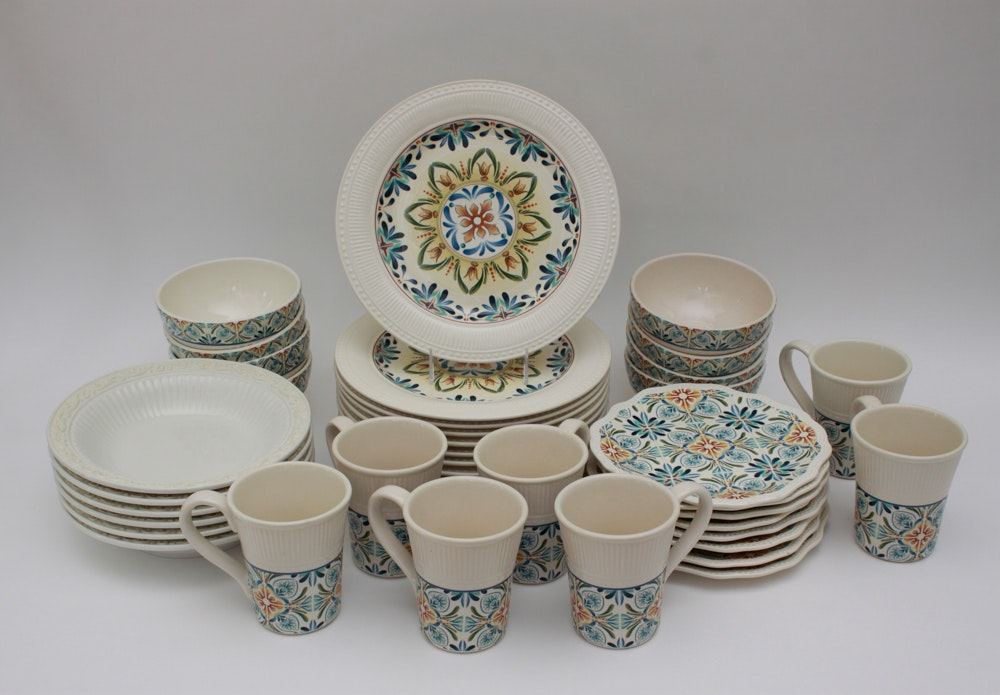 Pier One Imports  Athena  Ironstone Dinnerware ... & Pier One Imports