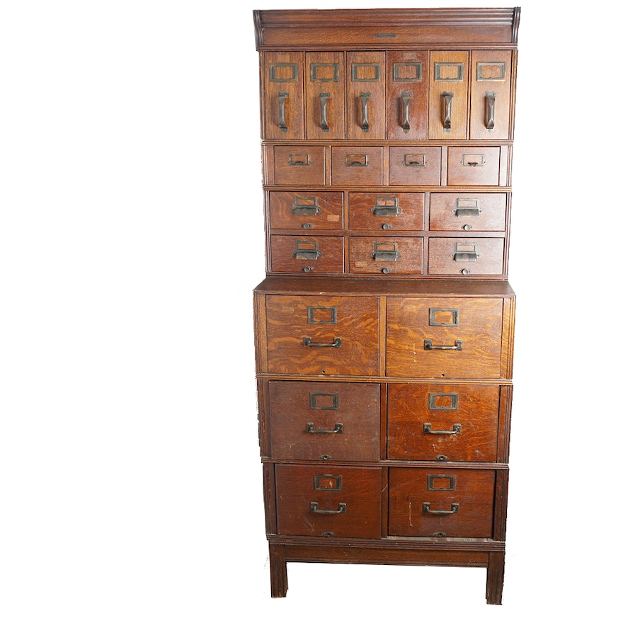 Antique File Cabinet by Yawman and Erbe ... - Antique File Cabinet By Yawman And Erbe : EBTH