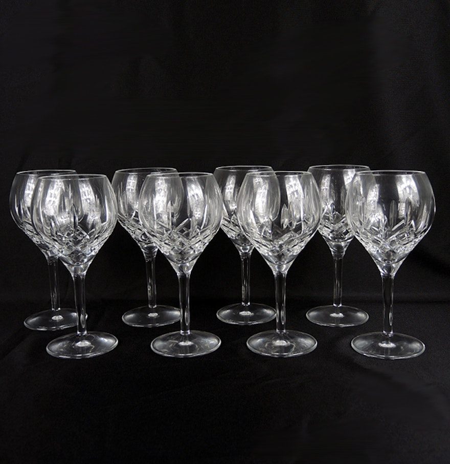 Waterford Crystal Lismore Traditions Wine Glasses : EBTH
