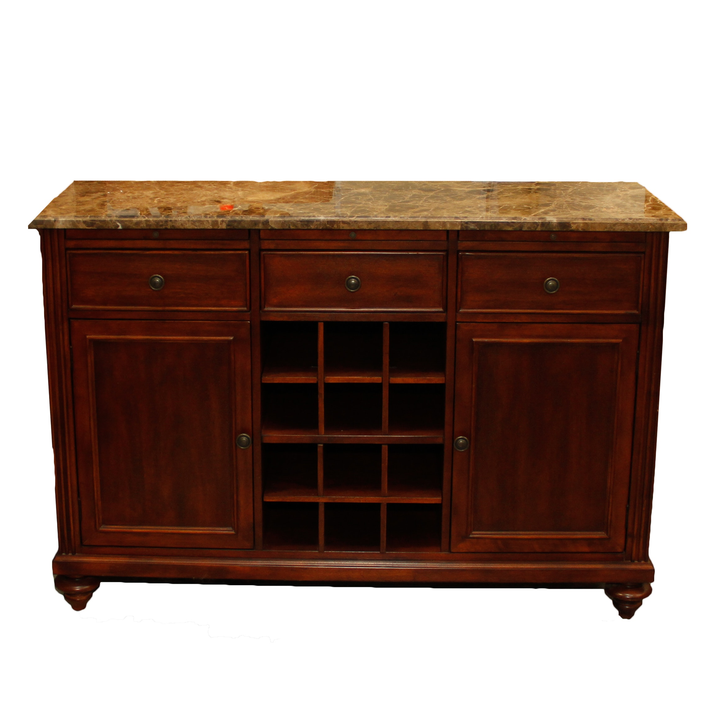 Charmant Shenandoah Valley Furniture Company Marble Top Buffet ...