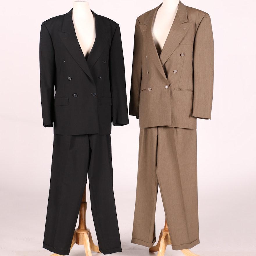 2d7dd51d0d8 Two Men's Yves Saint Laurent Suits : EBTH