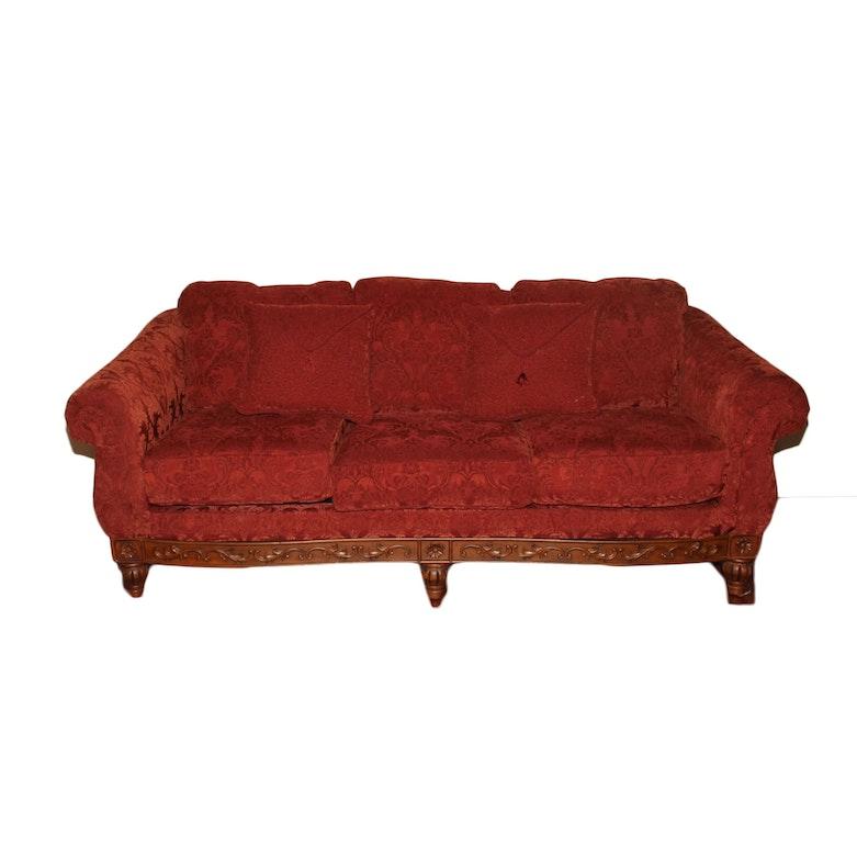 Clayton Marcus Queen Anne Style Sofa Ebth