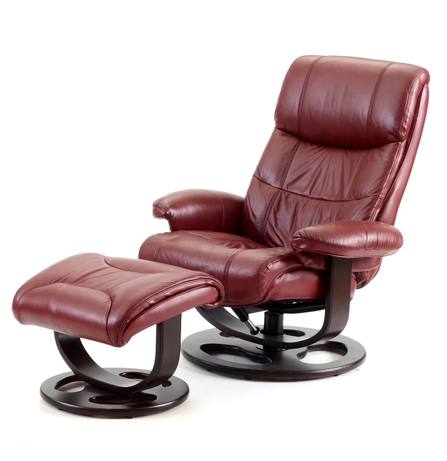 lane furniture rebel recliner chair with ottoman ebth
