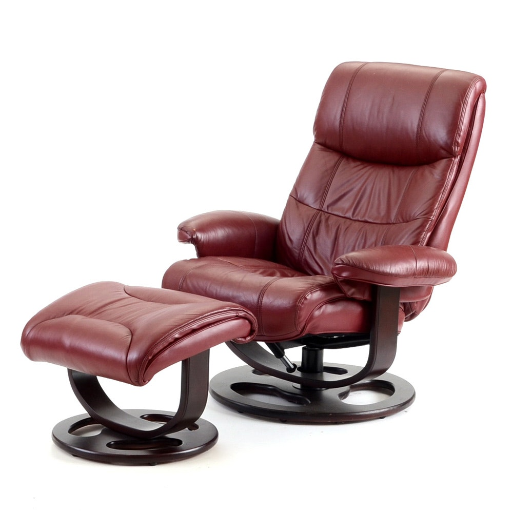 Lane Furniture  Rebel  Recliner Chair with Ottoman ...  sc 1 st  Everything But The House & Lane Furniture