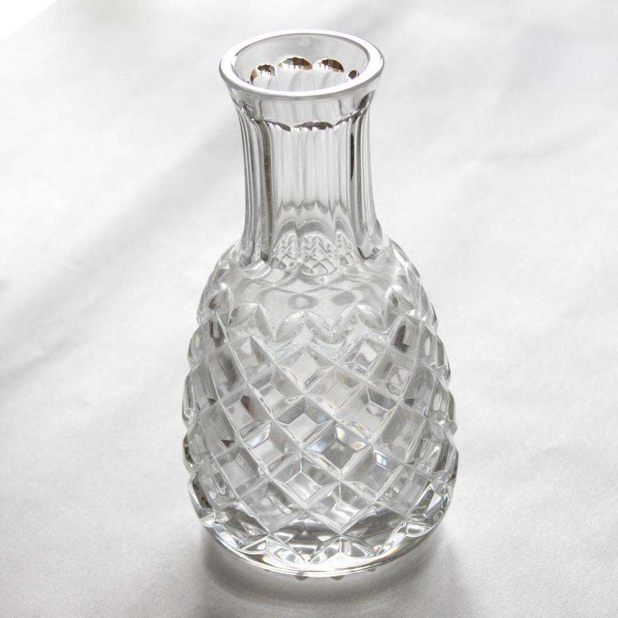 Waterford Pineapple Vase Ebth