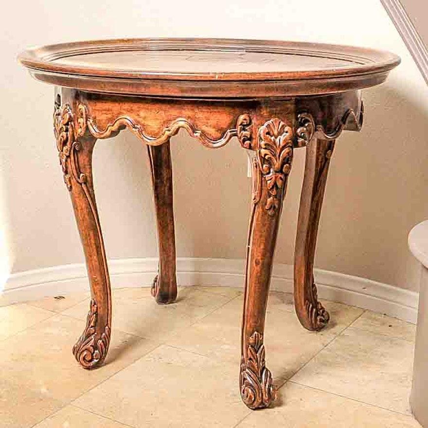 Vintage Rococo Style Side Table EBTH - Rococo side table