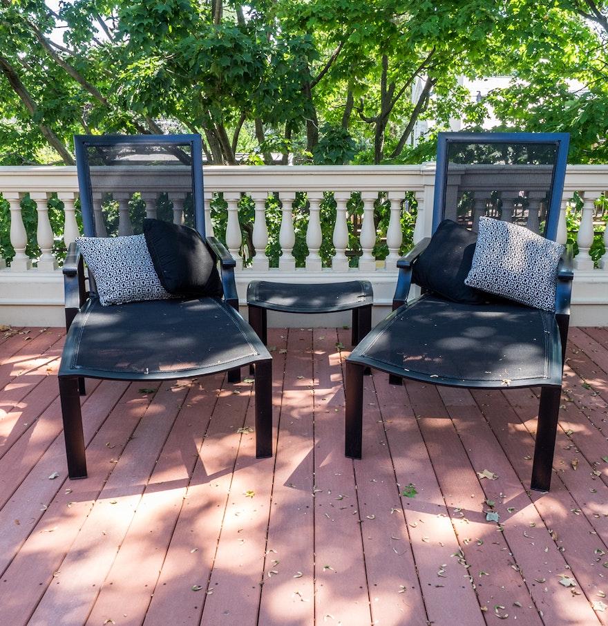 Set Of Brown Jordan Outdoor Furniture  EBTH - Jordan outdoor furniture