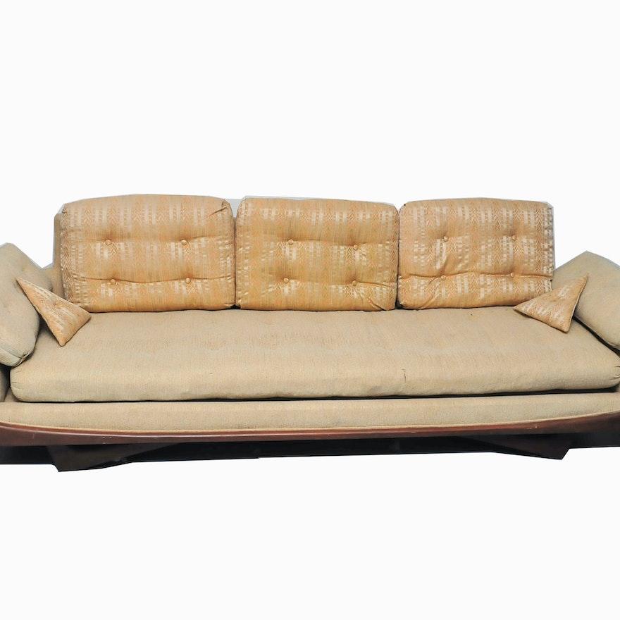 Vintage Adrian Pearsall Gondola Sofa Ebth