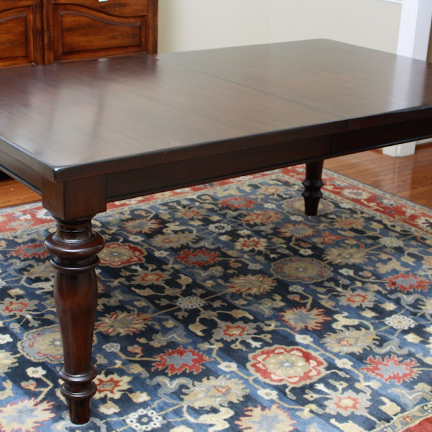 Pottery Barn Montego Mahogany Dining Table With