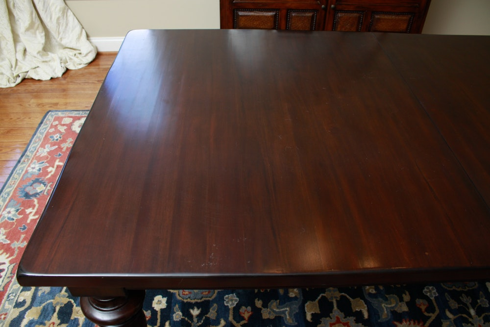 Pottery Barn Quot Montego Quot Mahogany Dining Table With Leaves