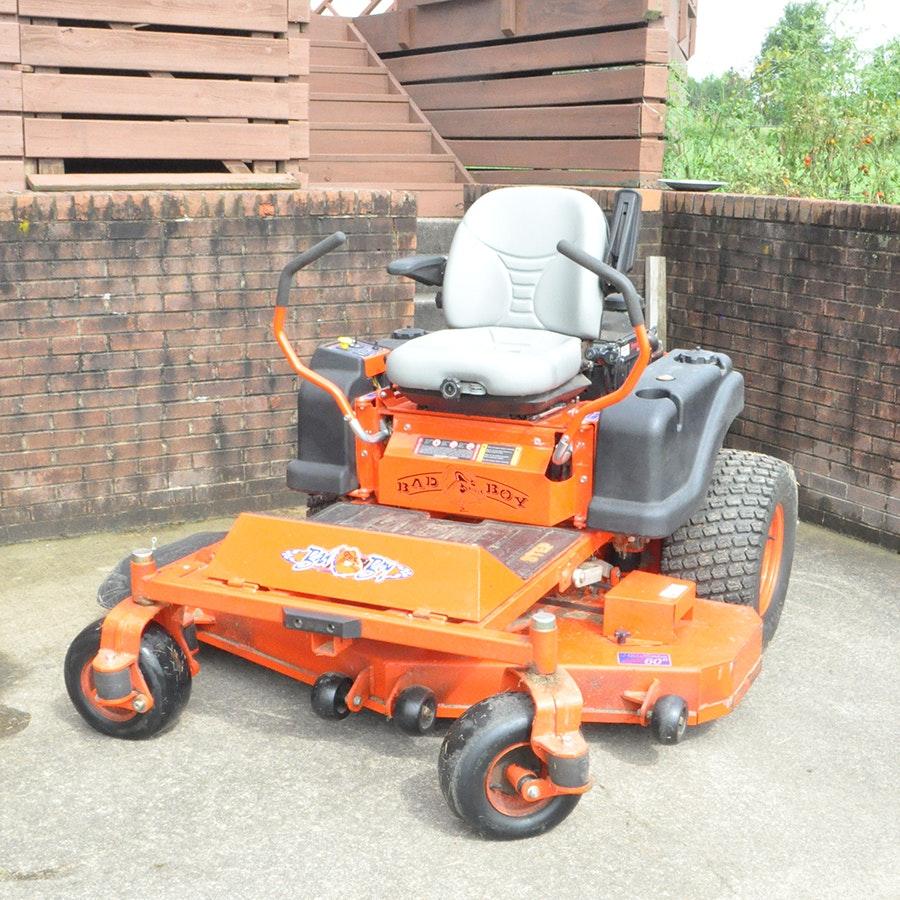 2009 Bad Boy Pro Series 6000 Lt Zero Turn Lawn Mower Ebth