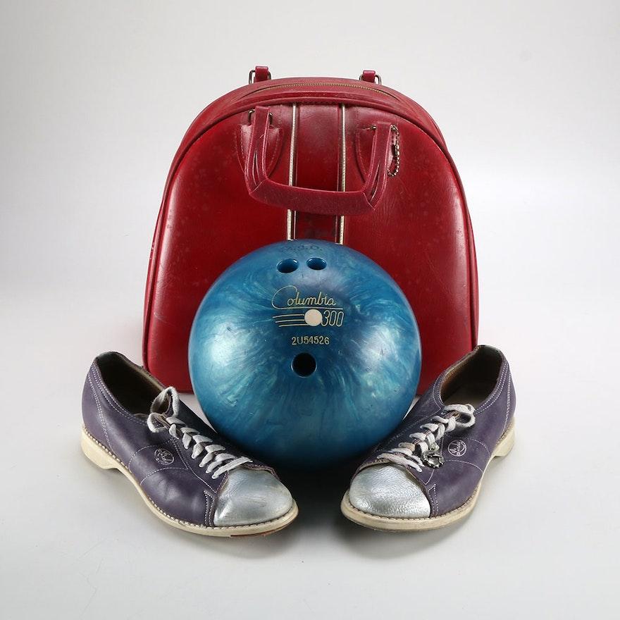 Vintage Bowling Ball 60e3962247547