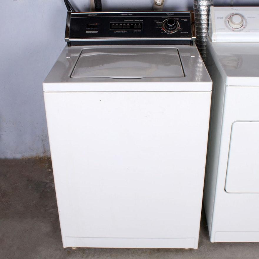 whirlpool imperial series heavy duty washing machine ebth. Black Bedroom Furniture Sets. Home Design Ideas