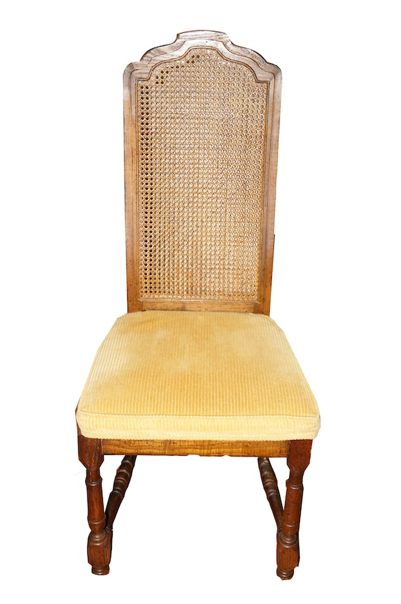 Drexel Heritage Cane Back Dining Chairs With Extra