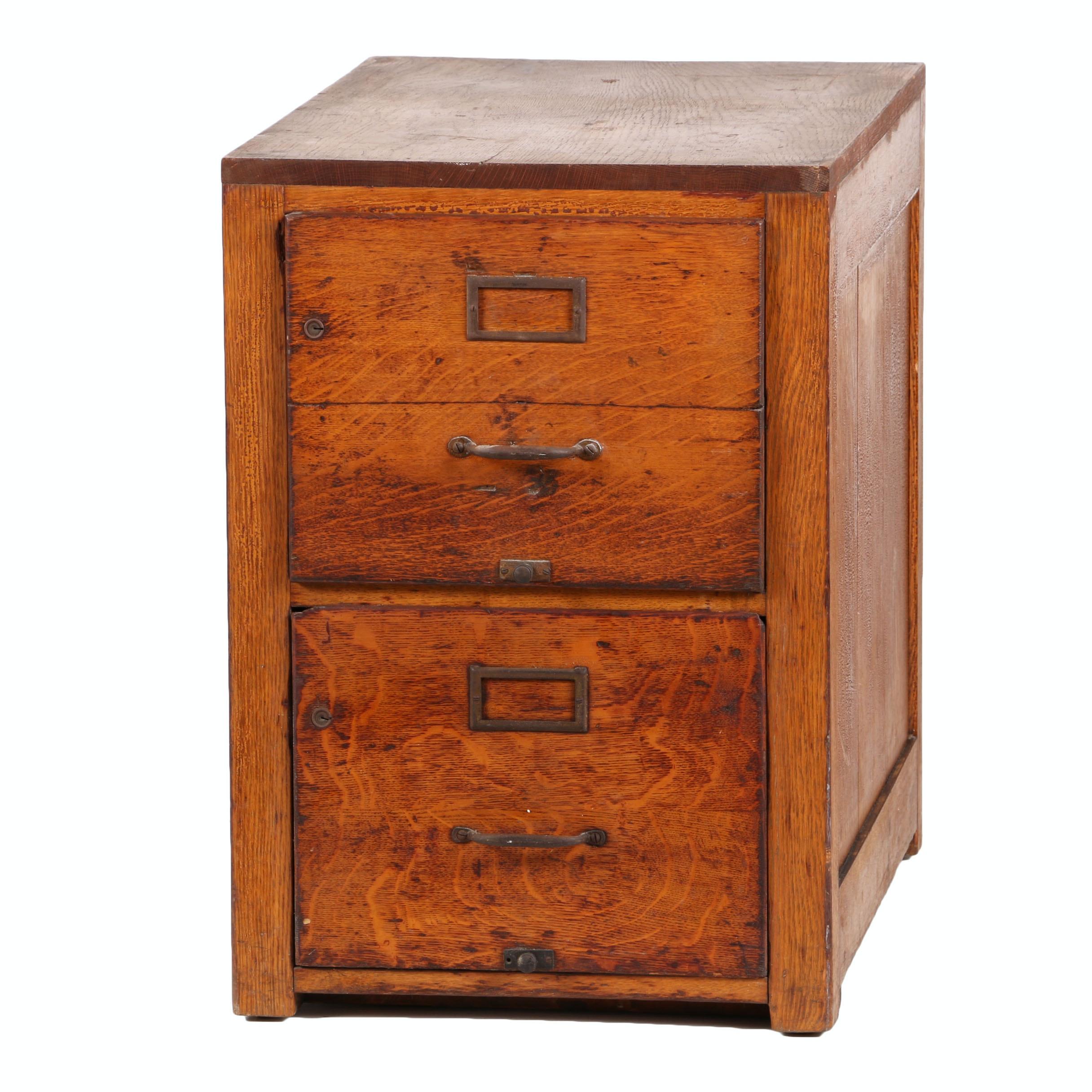 Bon Two Drawer File Cabinet In Oak ...