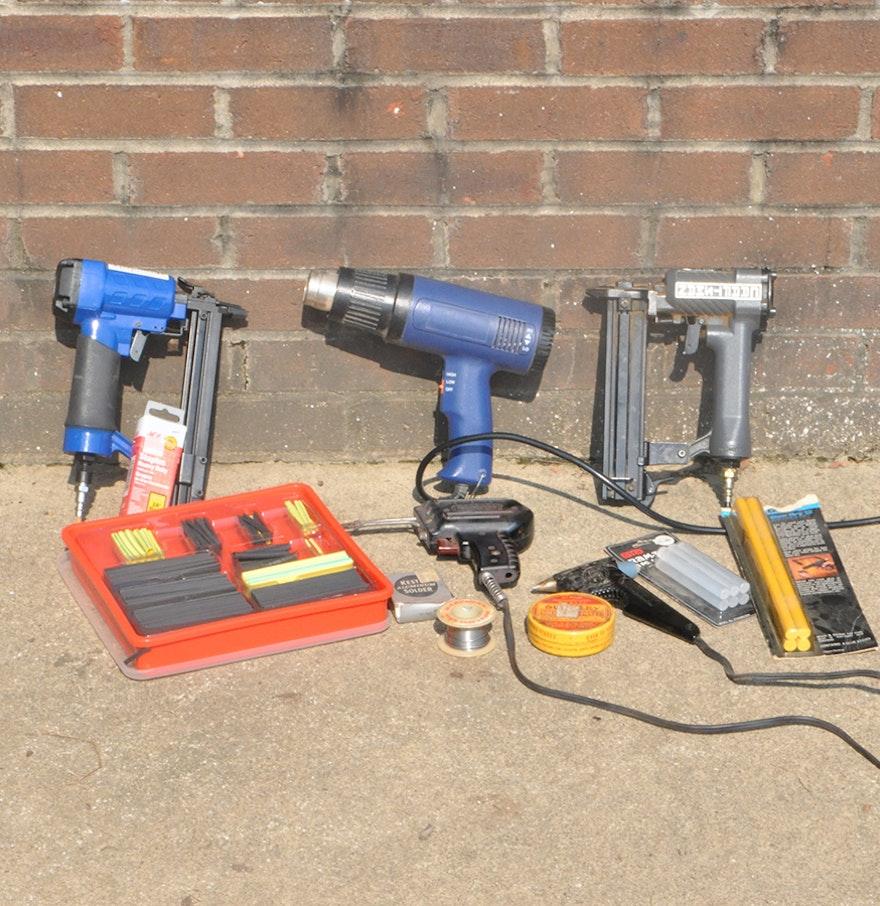 soldering iron heat gun and accessories ebth. Black Bedroom Furniture Sets. Home Design Ideas
