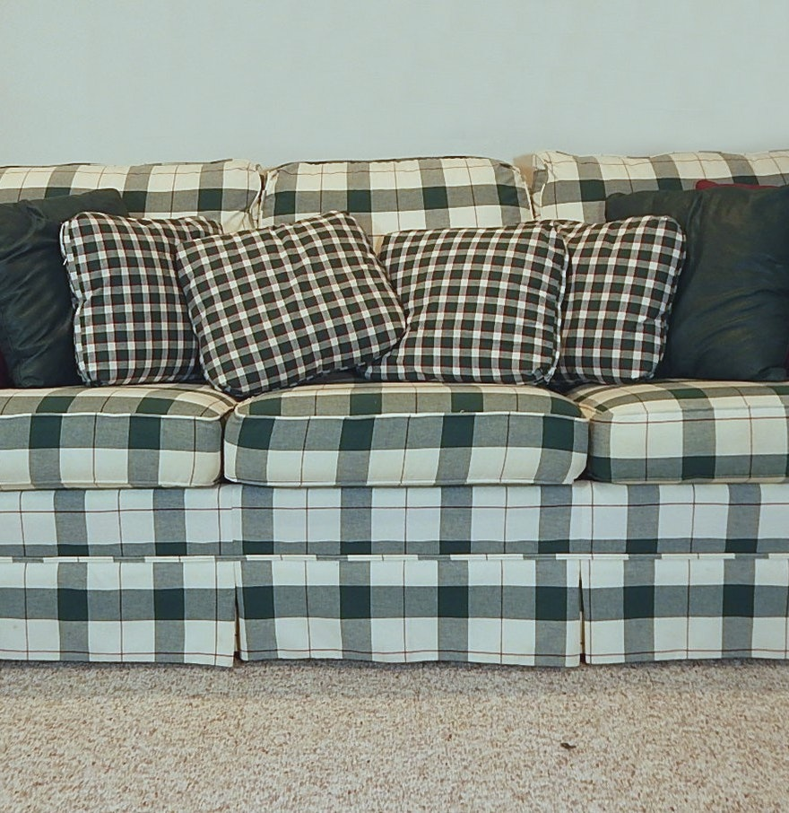 Green Plaid Sofa Green Plaid Sofa Rooms Thesofa