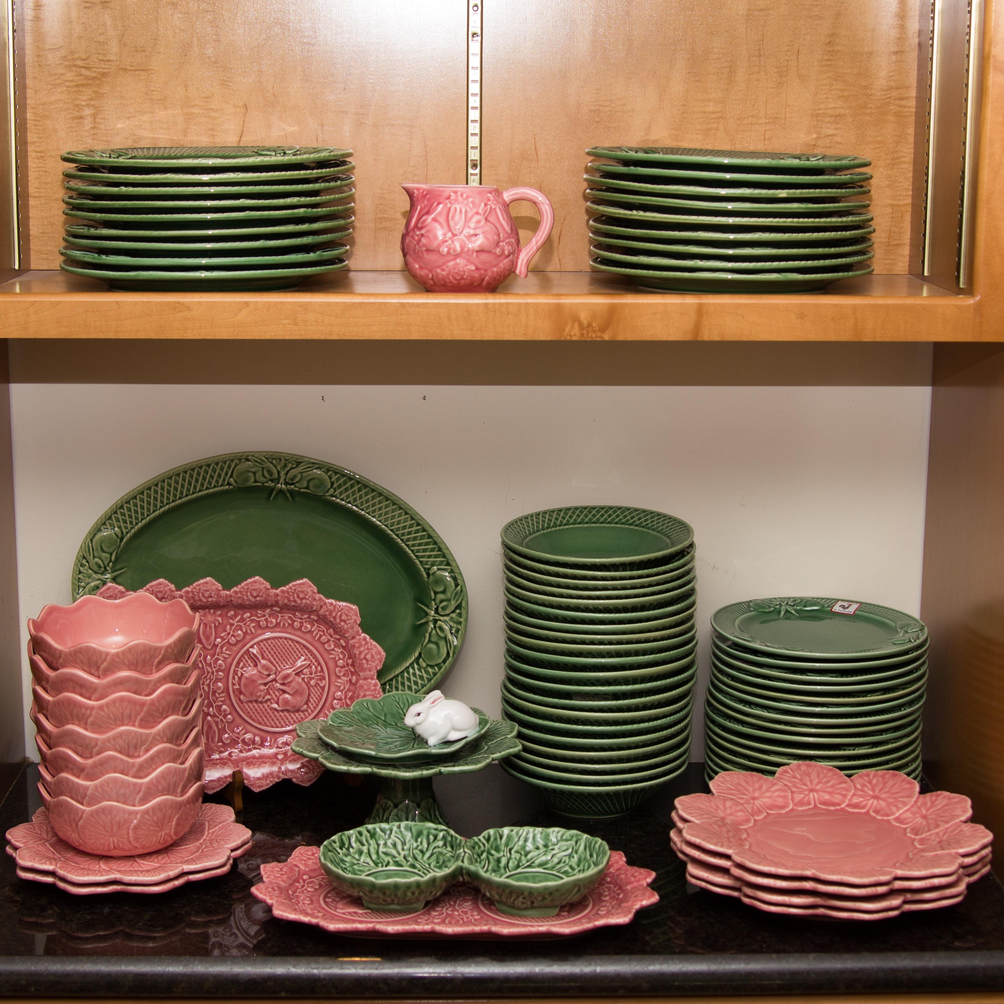 Bordallo Pinheiro Cabbage and Rabbit Theme Tableware : EBTH