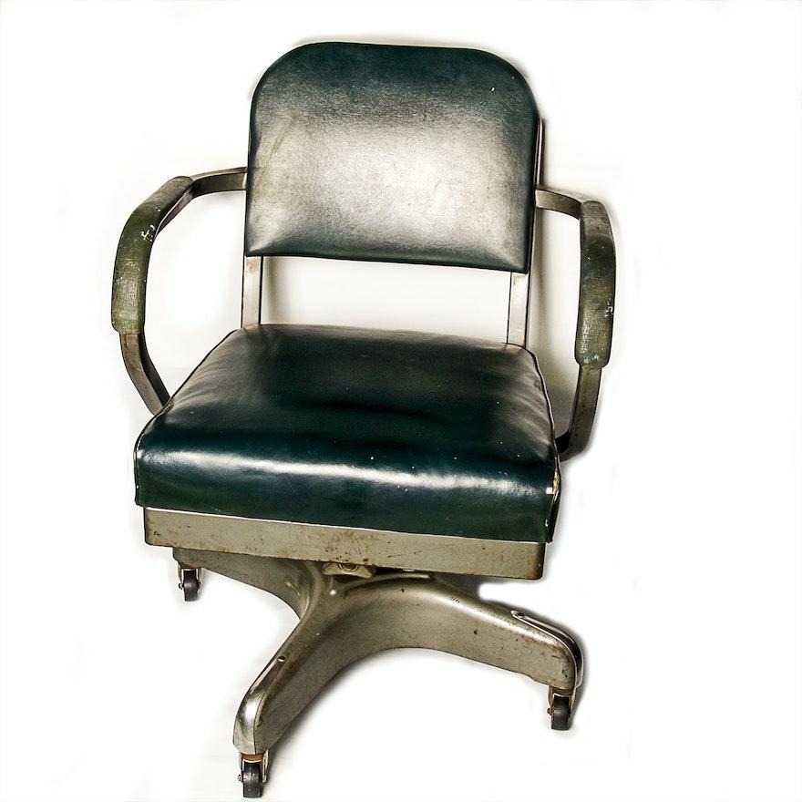 Very Vintage 1950's Harter Steel Office Chair : EBTH HS12