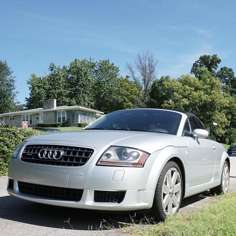 2004 Audi Quattro TT Convertible Coupe : EBTH