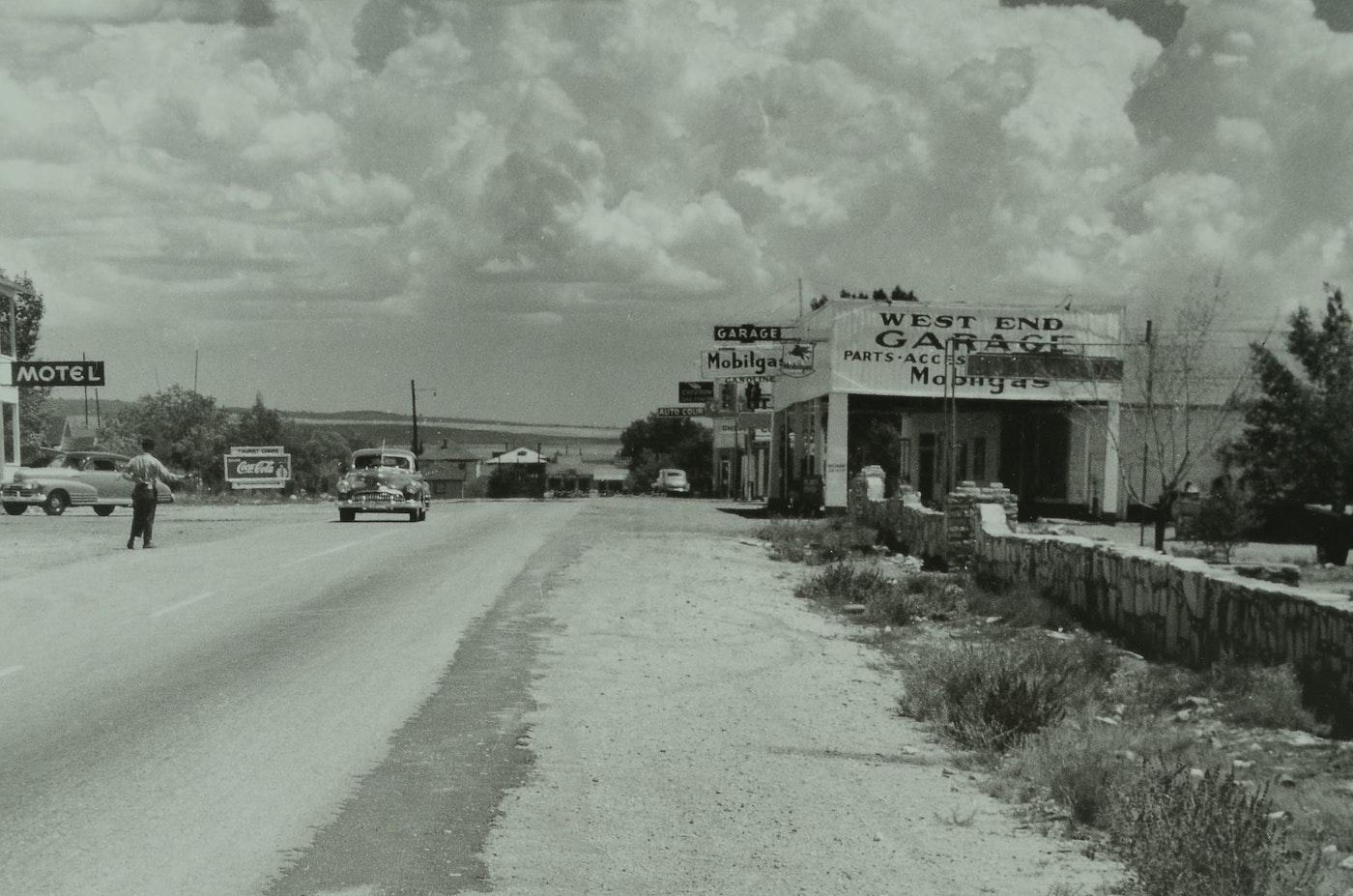 Framed Large In Size Life Magazine Route 66 Arizona 1953