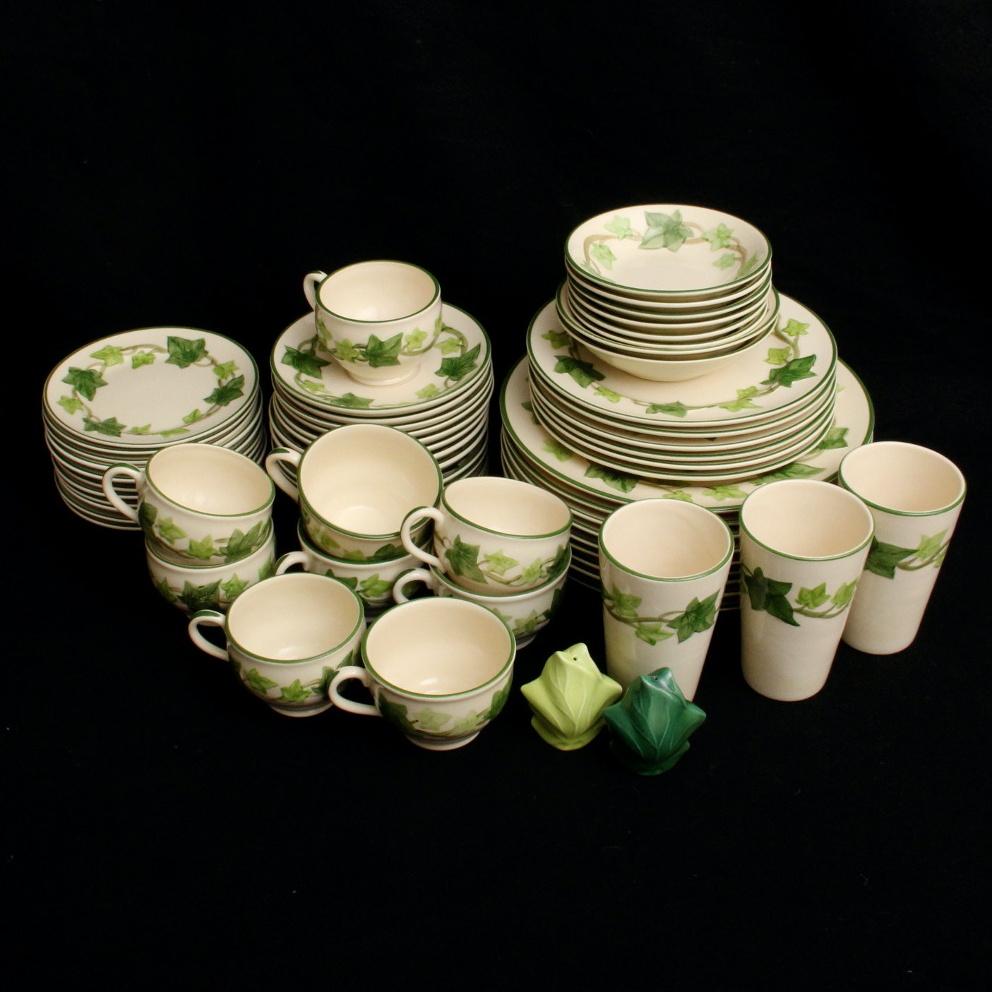Franciscan \ Ivy\  Dinnerware ... & Franciscan \