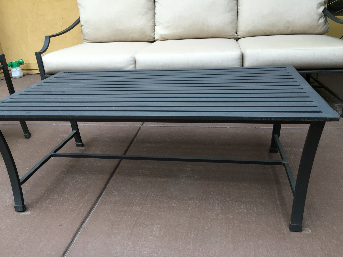 Set of restoration hardware carmel collection patio furniture ebth - Restoration hardware patio ...